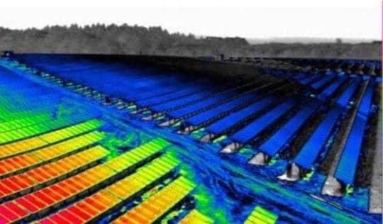 Działanie niskiej i wysokiej temperatury na panele fotowoltaiczne