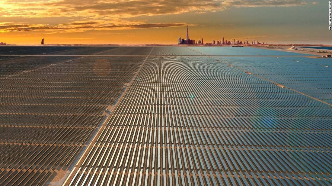 Dubai - elektrownia słoneczna