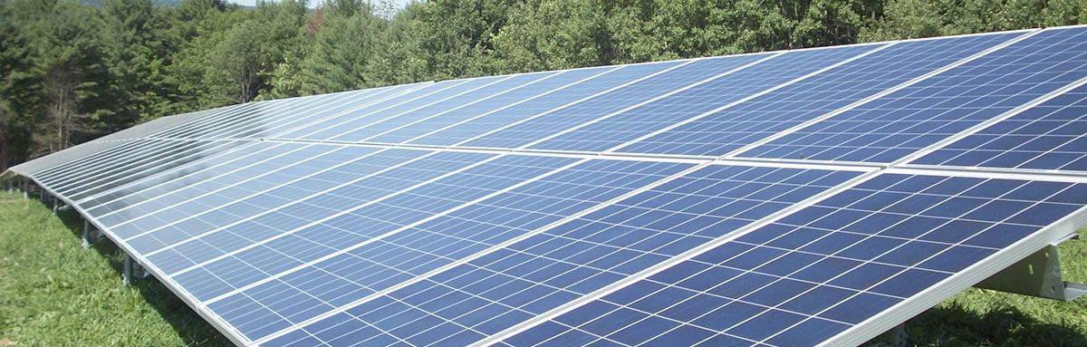 Prąd prosto z panela słonecznego