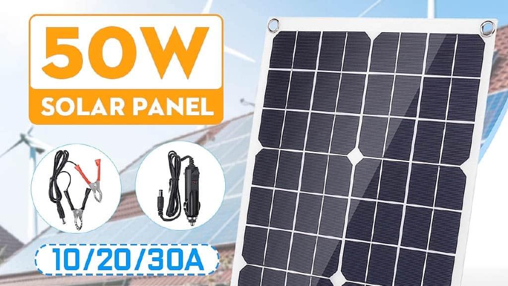 Energia prosto z panela słonecznego